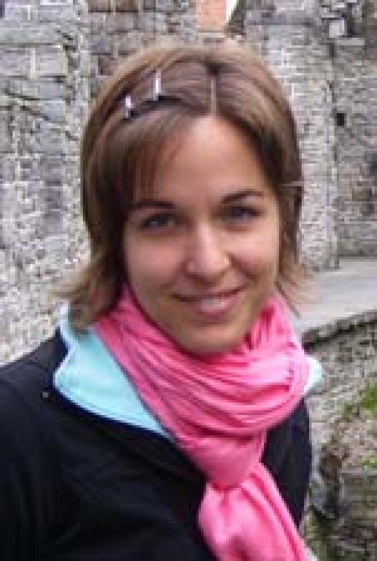 Geneviève Legault, étudiante à la maîtrise en biologie