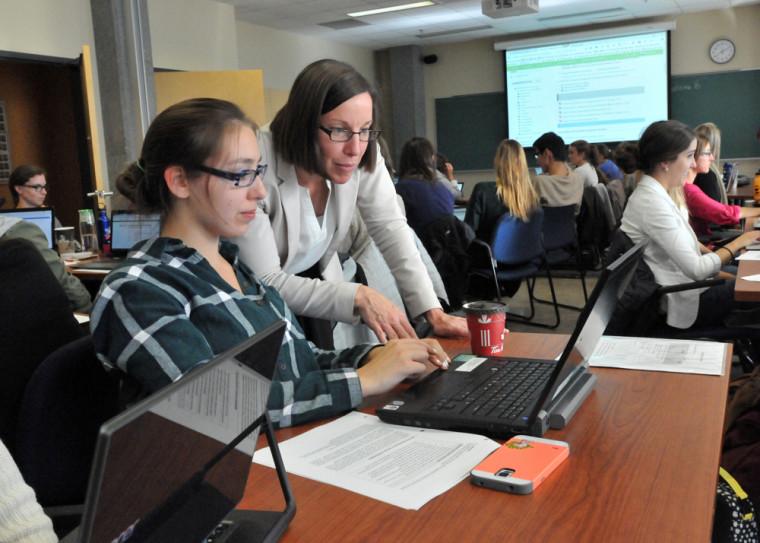 Un des avantages du portfolio numérique est qu'il permet de refléter comment l'étudiante ou l'étudiant a développé sapratique professionnelle en ergothérapie.