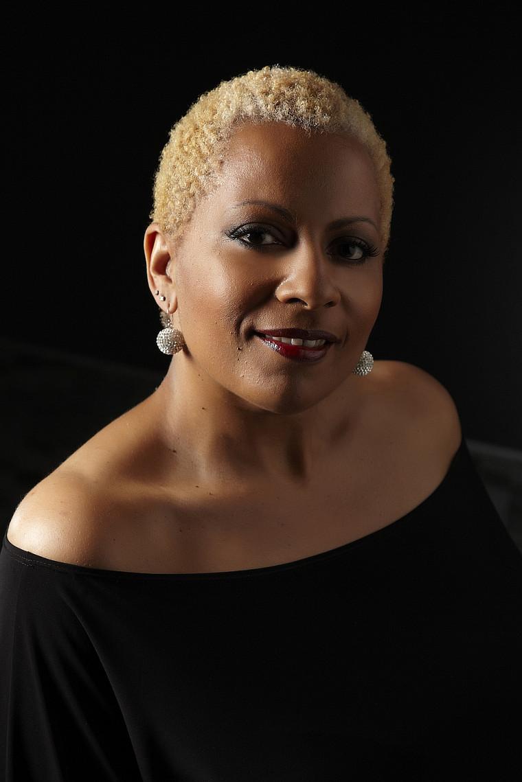 La chanteuse Kim Richardson.