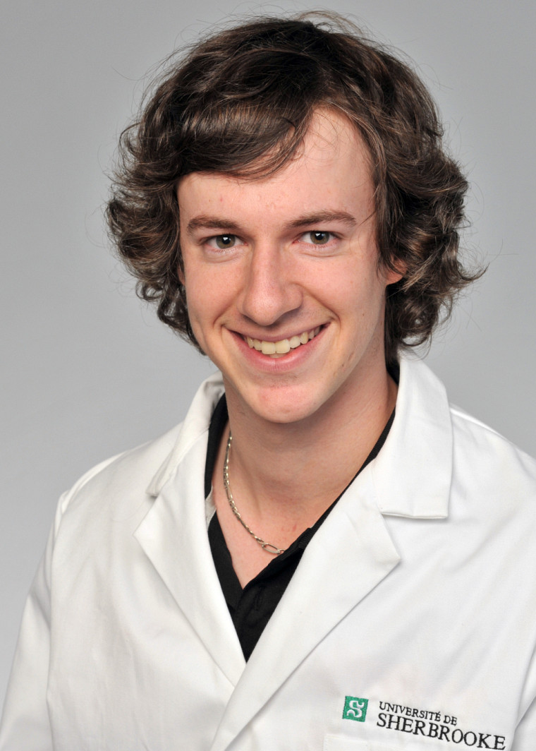 Michaël Sage, étudiant au doctorat en physiologie