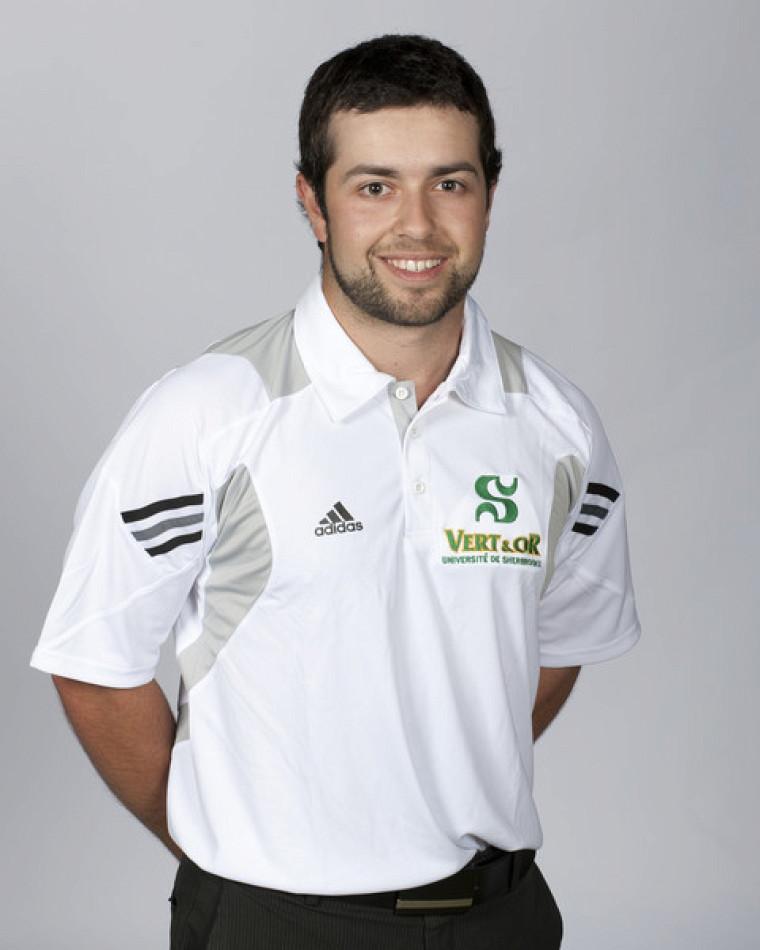 Marc-Alexandre Mercier a été le meilleur pointeur du Vert&Or au premier tournoi du RSEQ les 26et 27août à Chicoutimi.