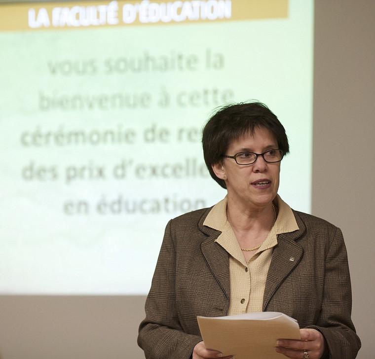 Luce Samoisette, rectrice de l'Université de Sherbrooke