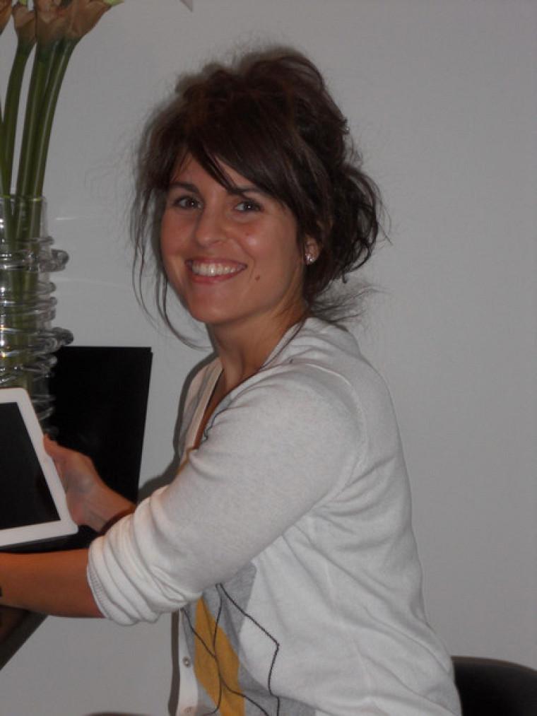 La doctorante en éducation Audrey Bélanger