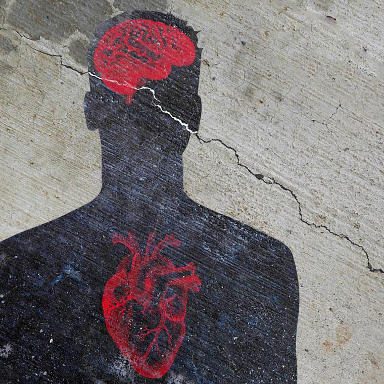Comme un problème de fondation non apparent, les troubles mentaux courants peuvent nuire à la gestion des maladies chroniques physiques lorsqu'ils sont ignorés.