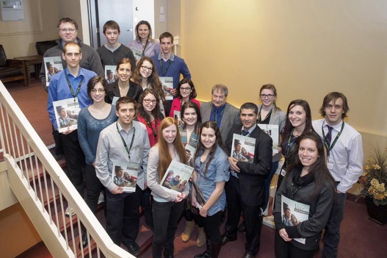 Les lauréates et lauréats 2013-2014 des prix, bourses et mentions du CUFE et de La Fondation de l'UdeS.