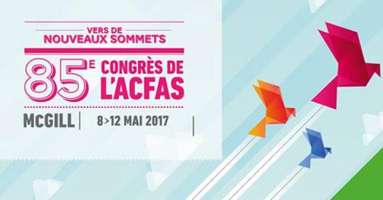 Près de 170 professeurs et chercheurs de l'UdeS participeront au 85e Congrès de l'Acfas, du 8 au 12 mai 2017.