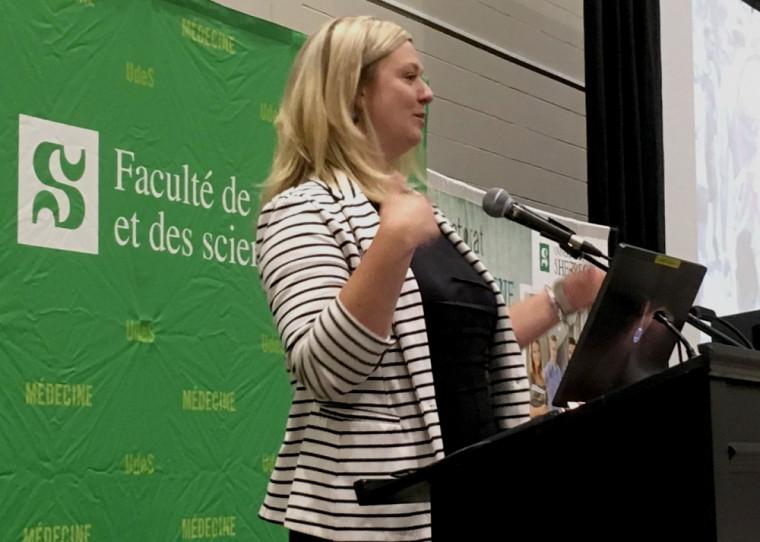 Mme Stéphanie Mongeau, conseillère en communication à la Ville de Sherbrooke