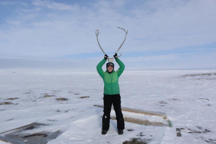Chloé Martineau, étudiante à la maîtrise en sciences géographiques au Groupe de recherche interdisciplinaire sur les milieux polaires (GRIMP)