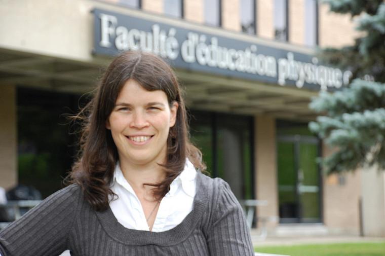 Sylvie Beaudoin, nouvelle professeure à la FEPS.