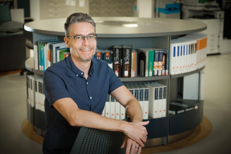 Wim Remysen, directeur duCentre de recherche interuniversitaire sur le français en usage au Québec (CRIFUQ)
