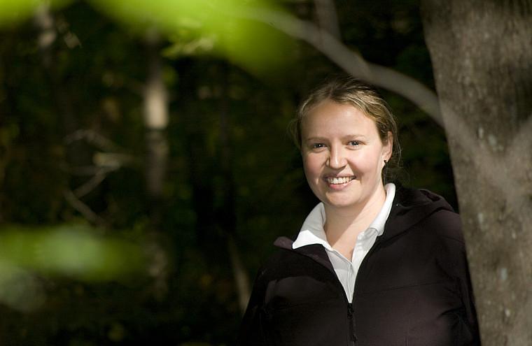 La professeure Fanie Pelletier