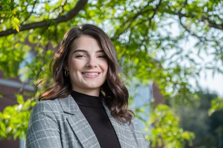 Catherine Brouillard, étudiante à la maîtrise en administration, concentration finance