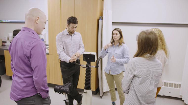 L'étude testera, sur de réels patients, deux manières de faire de l'exercice aérobie, soit l'entraînement par intervalles et l'entraînement continu d'intensité modérée.