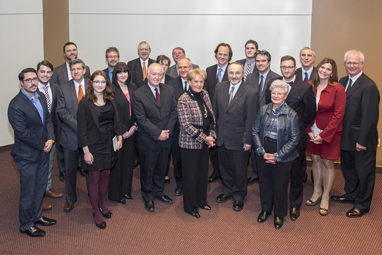 Plusieurs donateurs, ambassadeurs et personnalités du monde juridique ont assisté à l'événement.