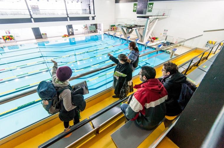 Visite du Centre sportif et découverte des multiples activités disponibles