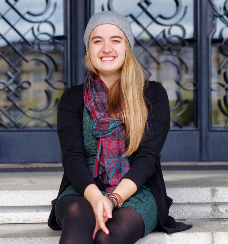 Clémence Cloutier-Deschênes, étudiante à la maîtrise en histoire