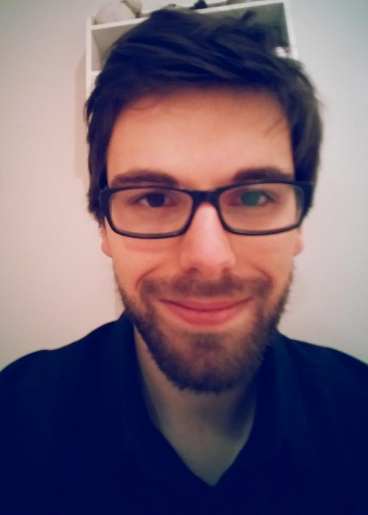 Jean-Philippe Carlos, étudiant au doctorat en histoire