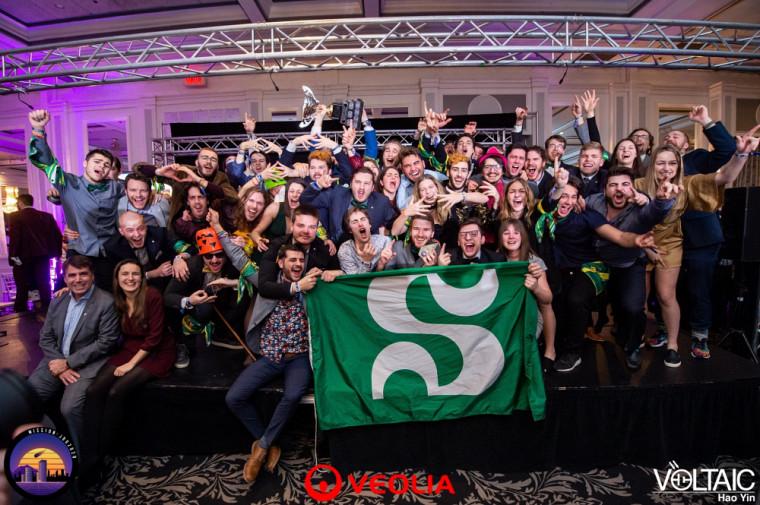 La délégation sherbrookoise, championne de la 30e édition des Jeux de génie du Québec