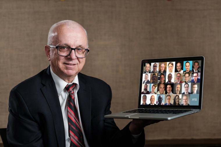 Richard Fontaine, directeur du CeFTI, et son équipe