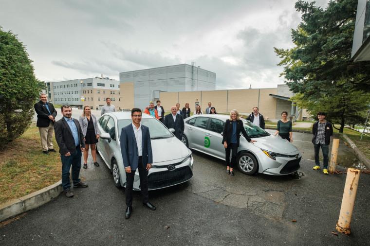 Un point de service offert en collaboration avec Communauto est maintenant disponible au Campus principal pour favoriser l'autopartage.