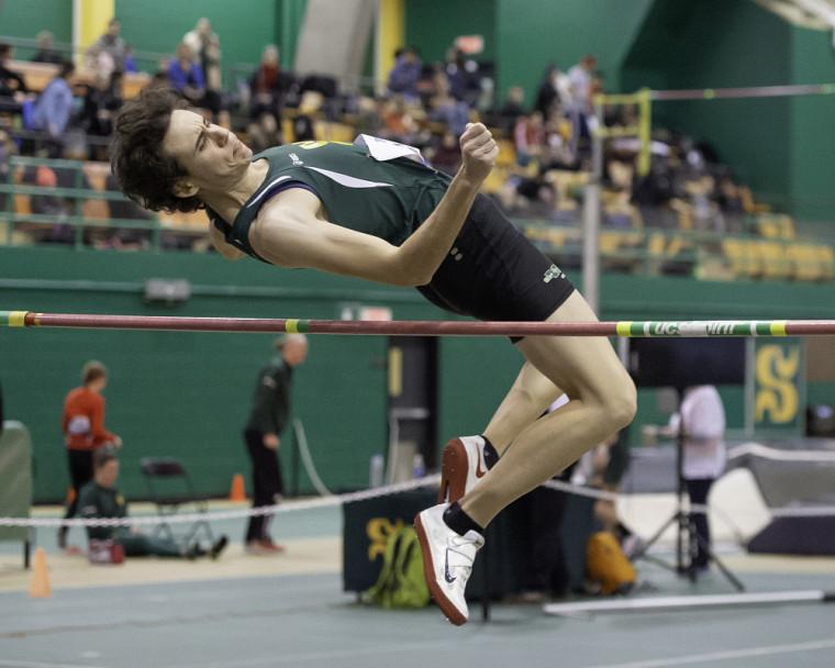 Amélie Augé, de l'équipe d'athlétisme Vert & Or.
