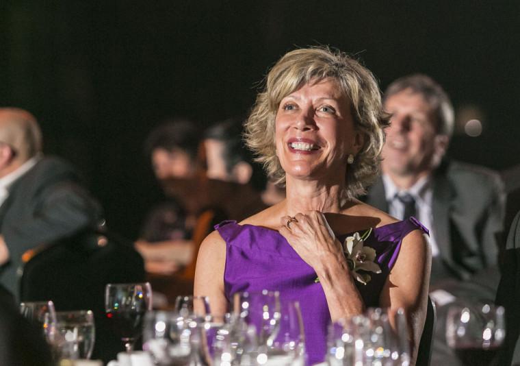 Sylvie Béland lors du Gala du Rayonnement 2017