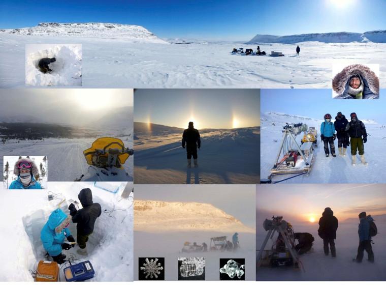 Une équipe du Département de géomatique appliquée en mission à Umiujaq au Nunavik.