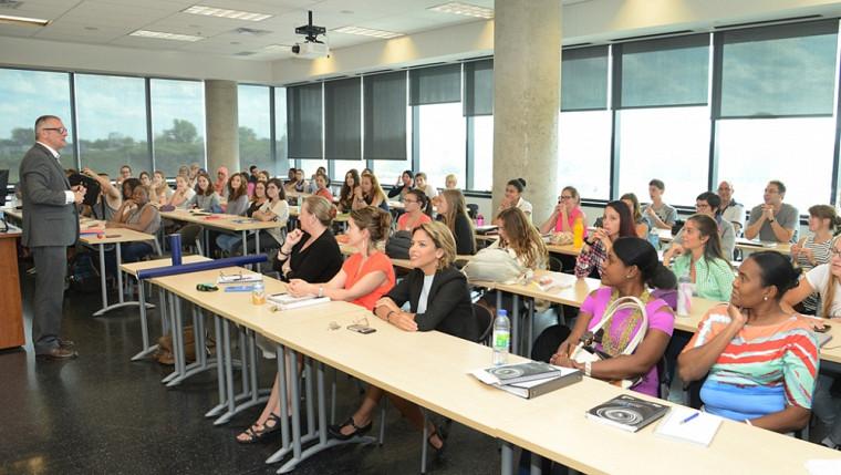 L'École des sciences infirmières de l'UdeS a accueilli sa première cohorte le 24 août dernier au baccalauréat en sciences infirmières – cheminement en formation initiale.