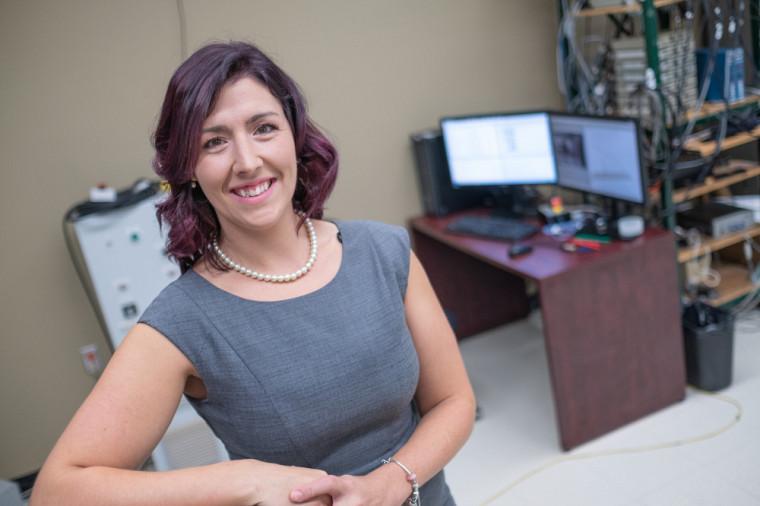 Evelyne Carbonneau, au Centre de recherche sur le vieillissement