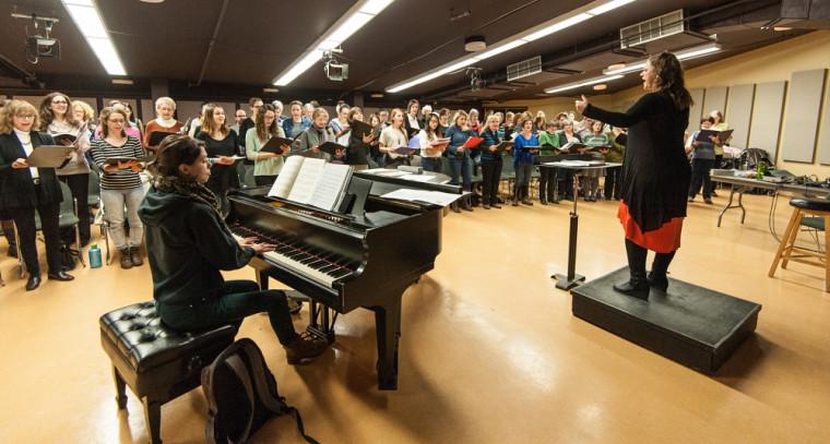 Venez célébrer Noël et la première année d'existence du Chœur Campus, le 16 décembre prochain! Concert gratuit (contribution volontaire).