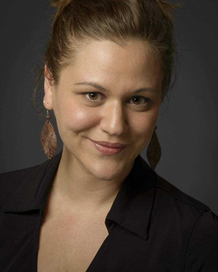 Marie-Claude Elias, directrice musicale du Chœur Campus et étudiante au 2e cycle en direction chorale, à l'École de musique de l'UdeS.