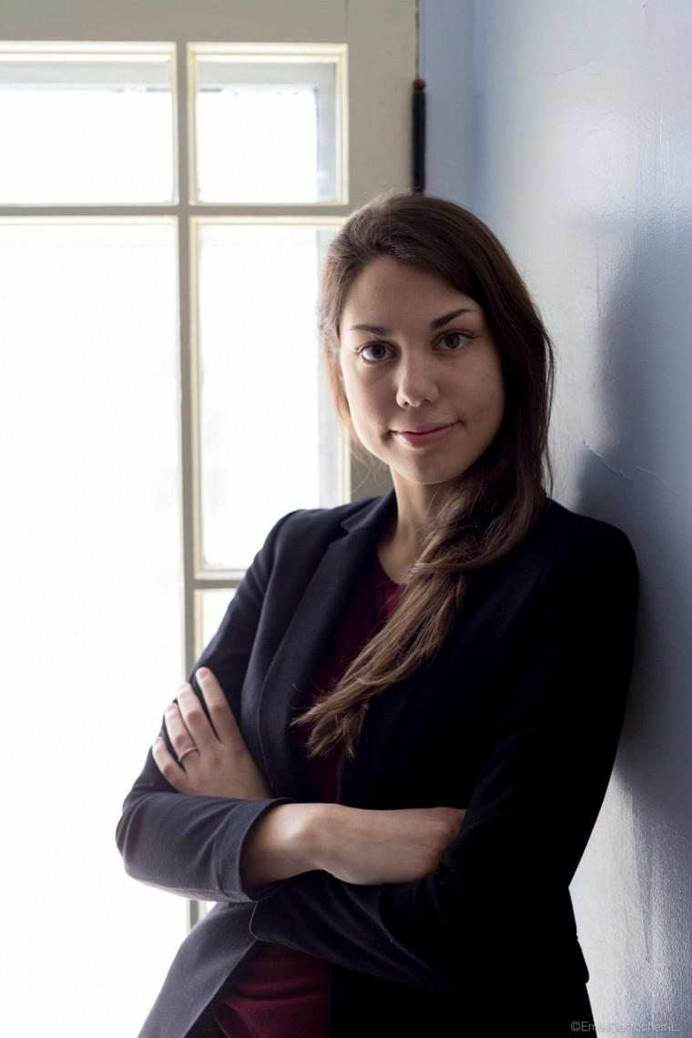 Marie-Anne Monette, pianiste-accompagnatrice du Chœur Campus et étudiante au baccalauréat en musique, interprétation piano, à l'École de musique de l'UdeS.