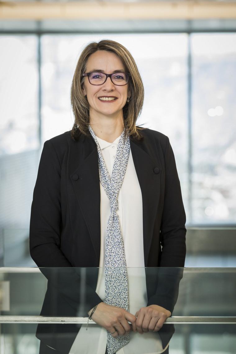 Sandra Martel, diplômée de la Faculté de génie