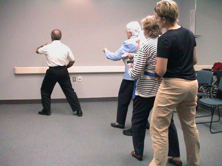 Dans le cadre de l'étude, les participants ont pris part à une trentaine de séances d'une heure de tai-chi.