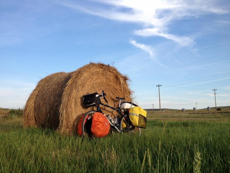 Photo prise par Matthieu Chartier dans les prairies canadiennes.