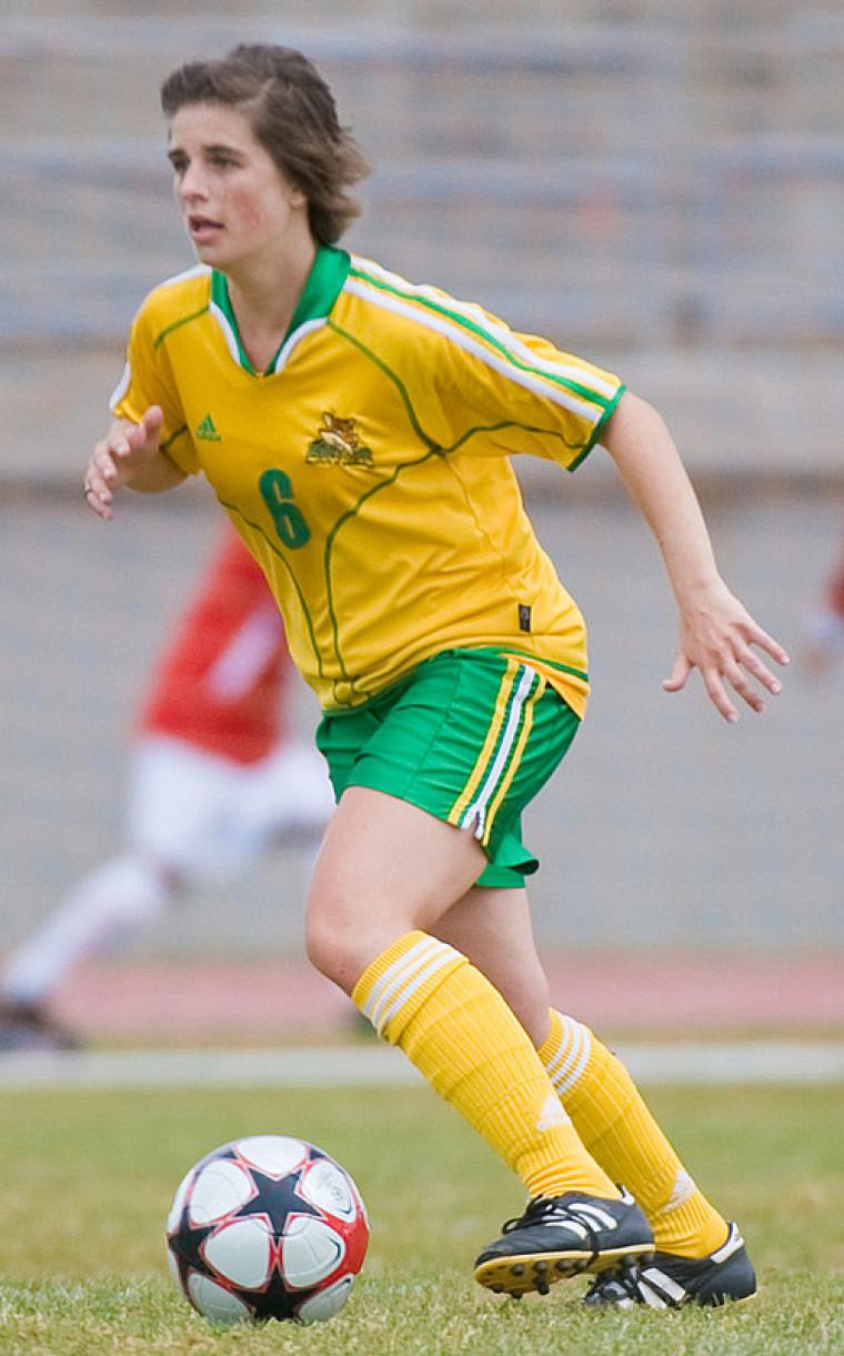 La recrue Camille Vandenberghe a ajouté deux passes à sa fiche, elle qui avait marqué deux fois face aux Carabins de l'Université de Montréal.