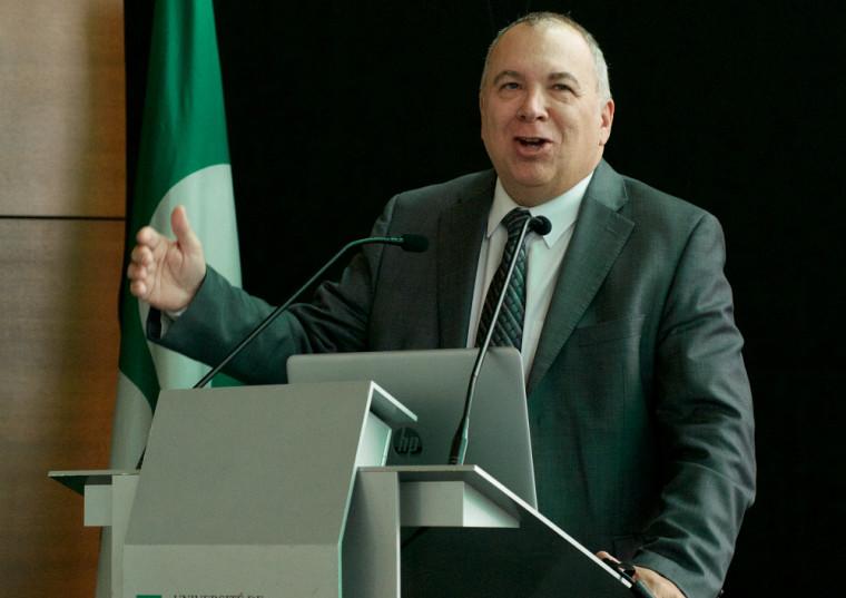 Monsieur Richard Deschamps, PDG du CISSS Montérégie-Centre.