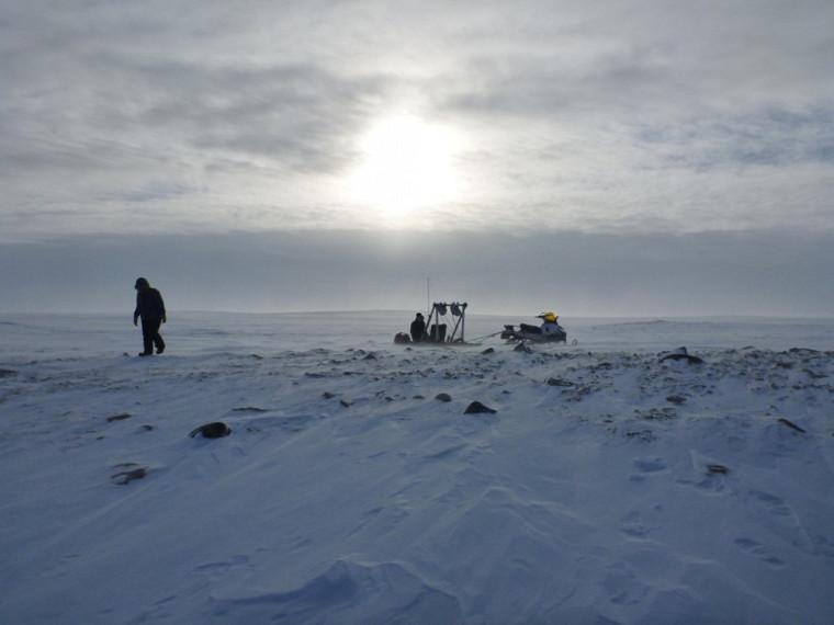 Le professeur Alain Royer a l'habitude de fréquenter les régions polaires dans le cadre de ses recherches.