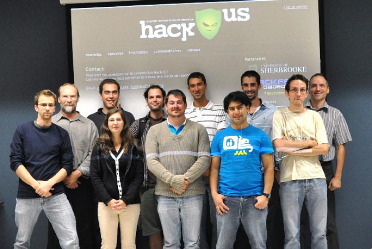 Les organisateurs de la compétition de sécurité informatique HackUS