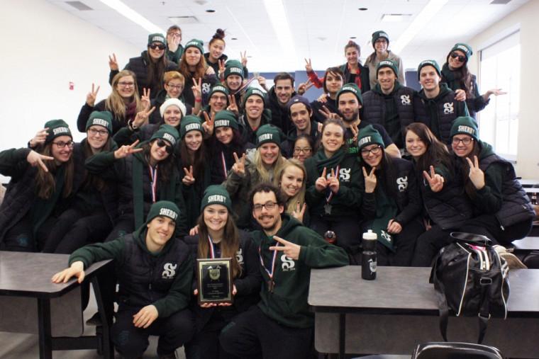 La délégation de l'Université de Sherbrooke aux Jeux de la communication 2014 #sherbylove