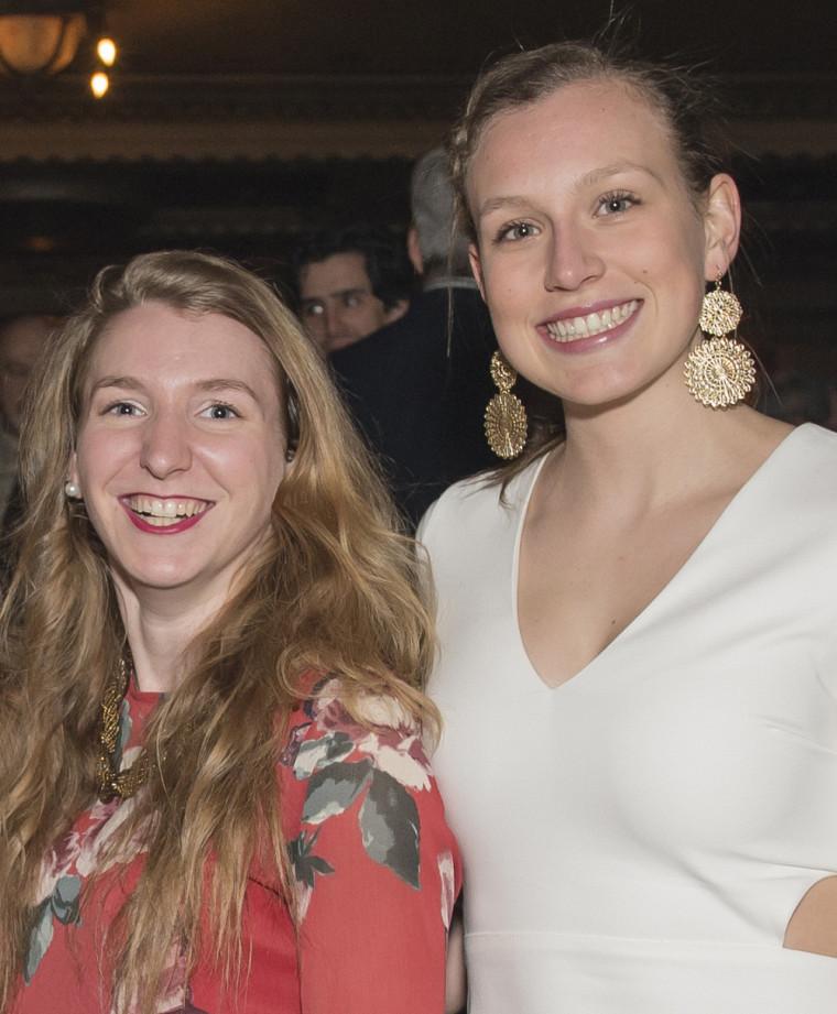 Marie-Ève Jacques et Maïté Bouchard, toutes deux finalistes dans leur catégorie.