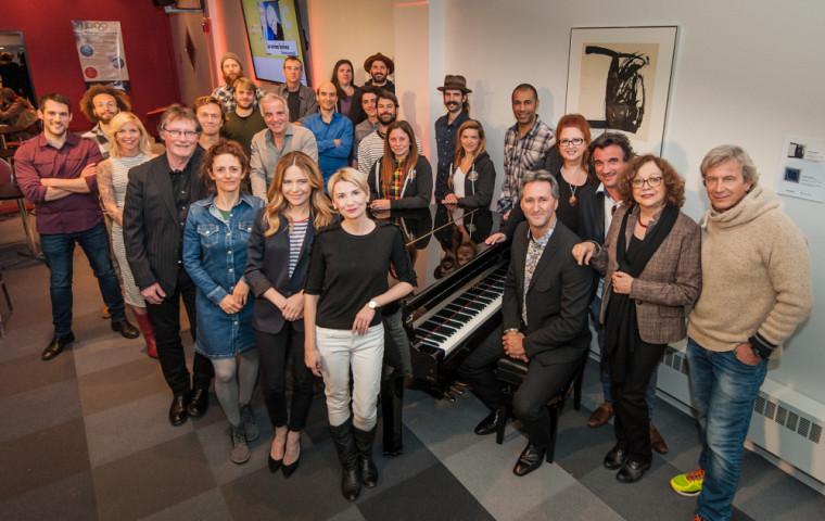 De nombreux artistes ont participé au lancement de la nouvelle programmation du Centre culturel, le lundi 1er mai en soirée!