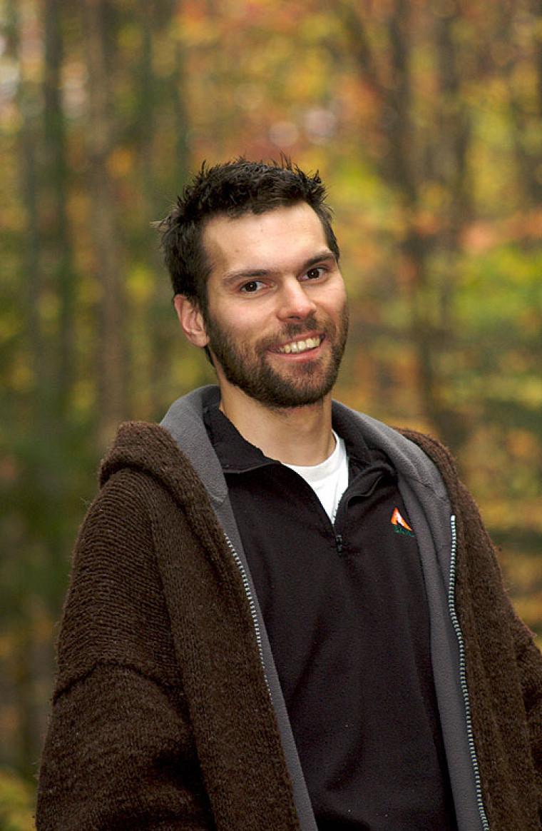 Vincent Careau, docteur en biologie de l'Université de Sherbrooke