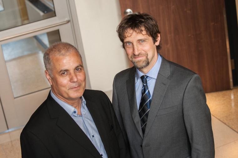 Les professeursAbdelkrim Hasni et Patrice Potvin, cotitulaires de la Chaire de recherche sur l'intérêt des jeunes pour les sciences et la technologie (CRIJEST)
