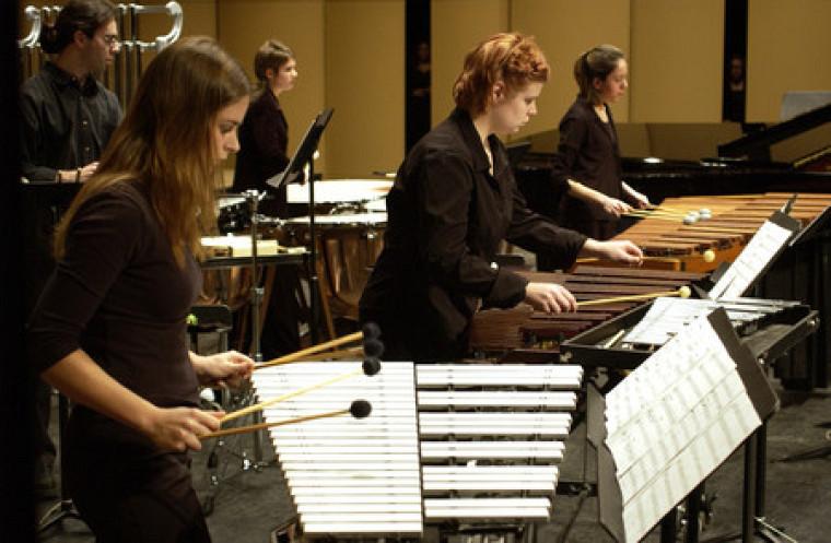 Assistez au concert gratuit de l'Ensemble de percussion le 30 mars prochain!