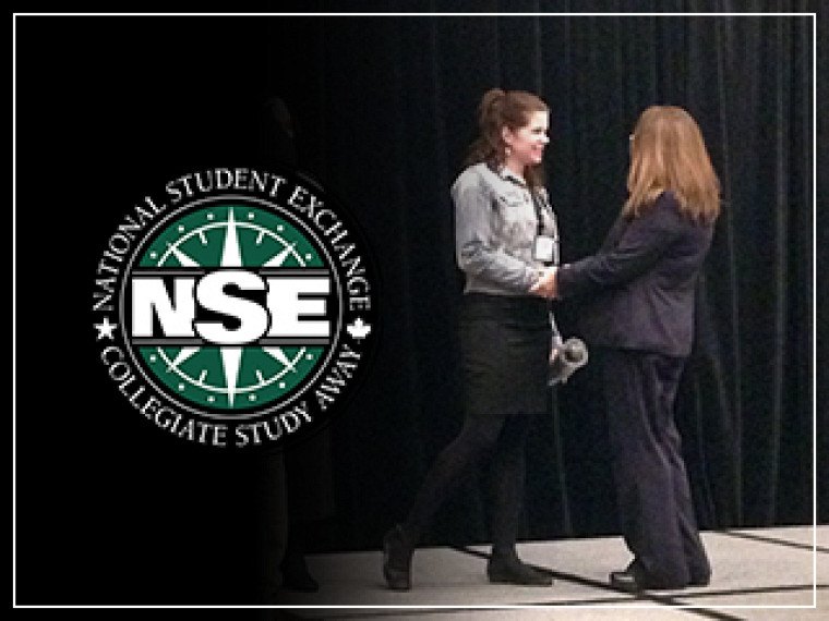 Christiane Fontaine, coordonnatrice responsable des programmes d'échanges étudiants à l'Agence des relations internationales de l'Université de Sherbrooke