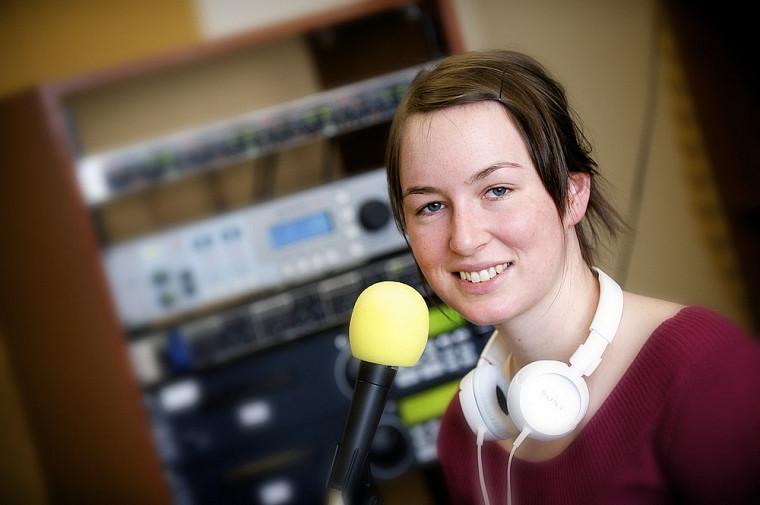Émilie Malenfant, animatrice à CFAK et étudiante à la maîtrise en histoire