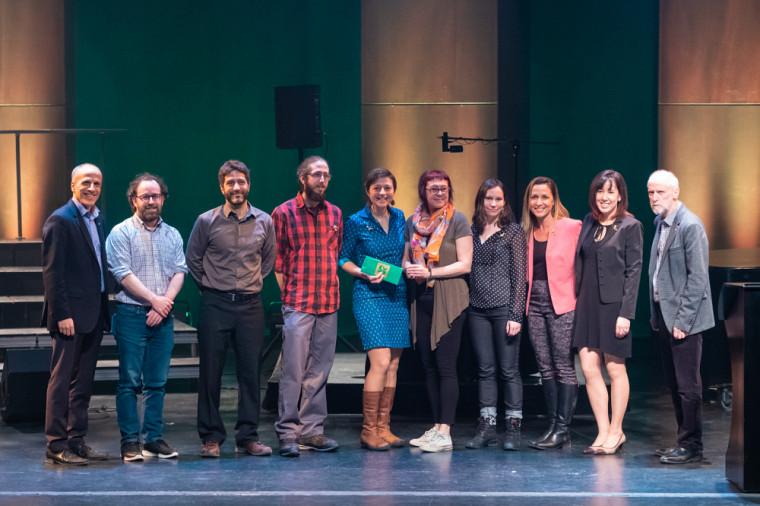 L'équipe des professionnelles et professionnels du réseau Lake Pulse, prix Équipe inspirante Initiative et innovation