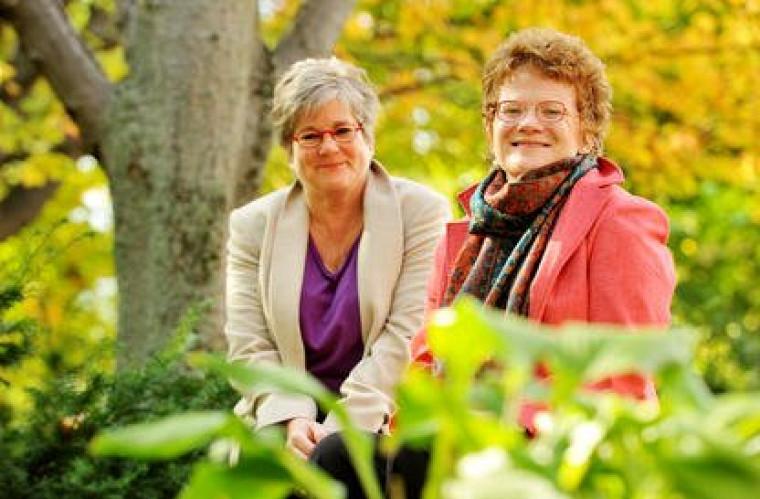 Les professeures Suzanne Garon et Marie Beaulieu