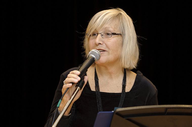 Maria Bandrauk, initiatrice du Fonds André et Maria Bandrauk destiné aux étudiants de l'École de musique depuis 1992.